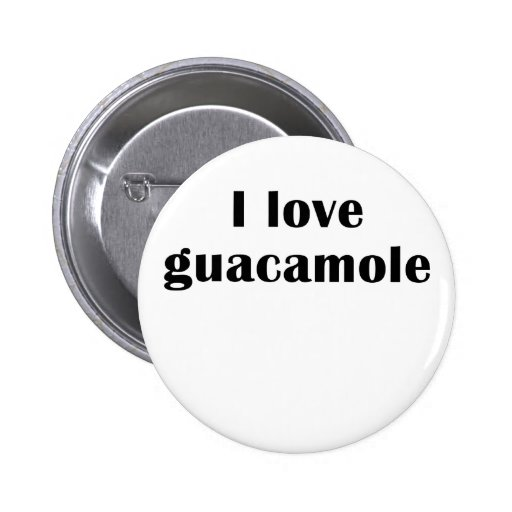 Amo el Guacamole Pin
