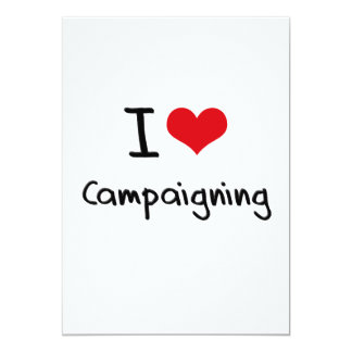 Amo el hacer campaña invitación personalizada
