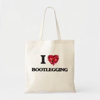 Amo el hacer contrabando bolsa tela barata