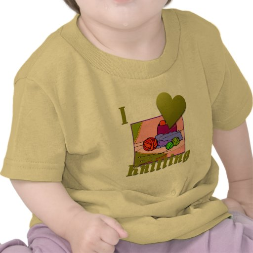 Amo el hacer punto de #2 camisetas