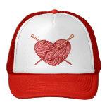 Amo el hacer punto gorras de camionero