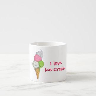 Amo el helado tazita espresso