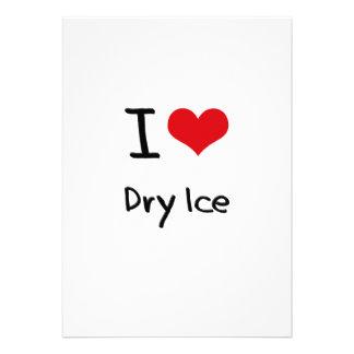 Amo el hielo seco anuncios