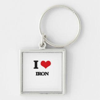 Amo el hierro llavero
