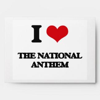 Amo el himno nacional