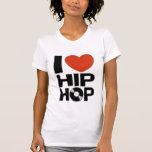 Amo el hip-hop camiseta