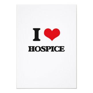 """Amo el hospicio invitación 5"""" x 7"""""""