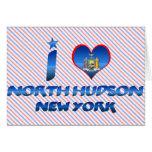 Amo el Hudson del norte, Nueva York Felicitación