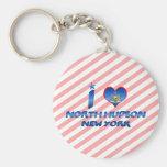 Amo el Hudson del norte, Nueva York Llavero