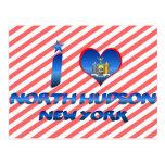 Amo el Hudson del norte, Nueva York Postales