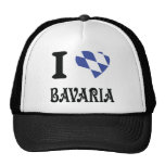Amo el icono de Baviera Gorra