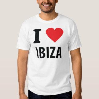 Amo el icono de Ibiza Playera