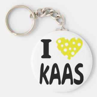 Amo el icono de los kaas llavero redondo tipo pin