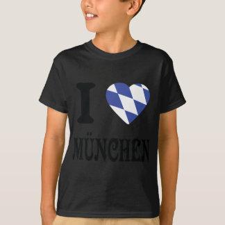 Amo el icono de München Camisas