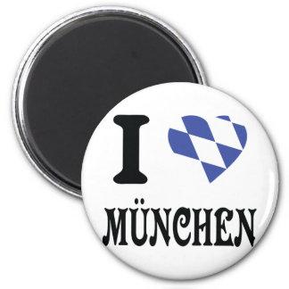 Amo el icono de München Iman De Nevera
