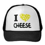 Amo el icono del queso gorro