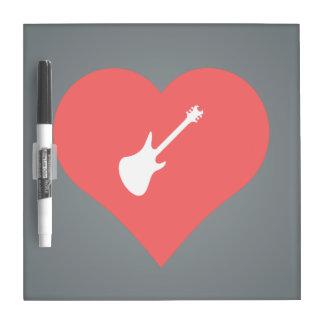 Amo el icono fresco de los conciertos de la pizarras blancas de calidad