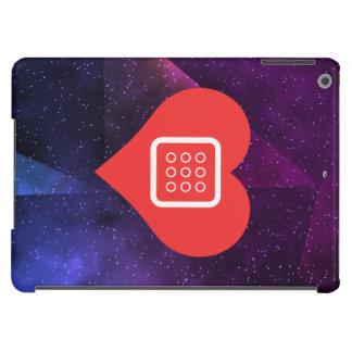Amo el icono fresco de los telclados numéricos del funda para iPad air