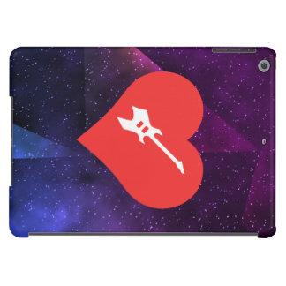 Amo el icono fresco usado de las guitarras funda para iPad air