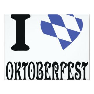 Amo el icono más oktoberfest invitaciones personales