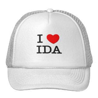 Amo el Ida Gorras De Camionero