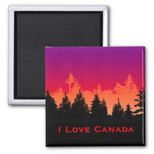 Amo el imán de Canadá