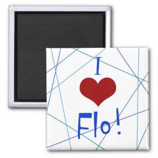Amo el imán de Flo