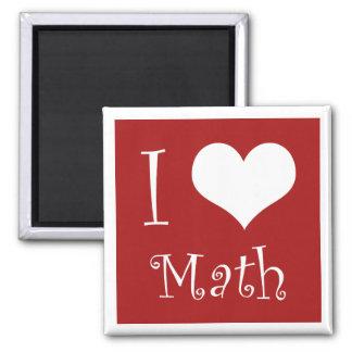 Amo el imán de la matemáticas