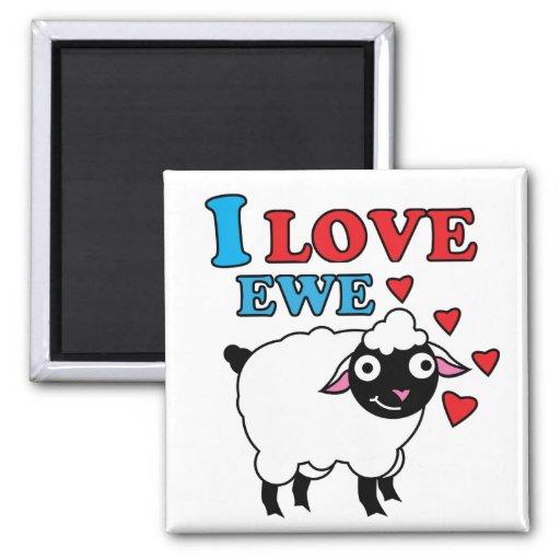 Amo el imán de la oveja