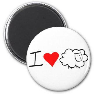 Amo el imán de la oveja (usted)