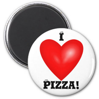 Amo el imán de la pizza