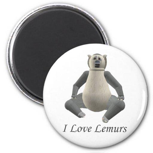 Amo el imán de los Lemurs