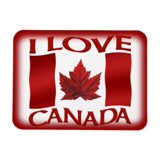 Amo el imán del recuerdo de Canadá del imán del