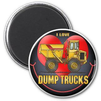 Amo el imán redondo de los camiones volquete grand