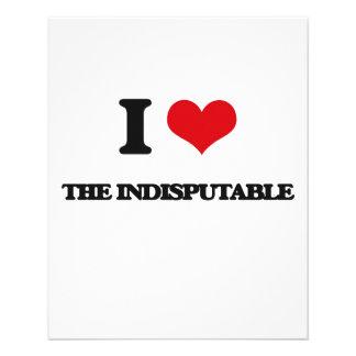 """Amo el incuestionable folleto 4.5"""" x 5.6"""""""