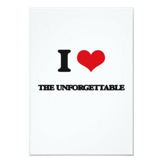 """Amo el inolvidable invitación 3.5"""" x 5"""""""
