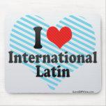 Amo el International+Latino Alfombrilla De Raton