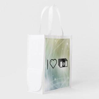 Amo el invertir de los dineros bolsas reutilizables