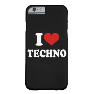 Amo el iPhone 6/6s de Techno Funda De iPhone 6 Barely There