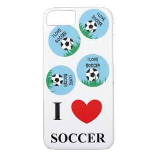 Amo el iPhone 7 Bareley del fútbol allí encajono Funda iPhone 7