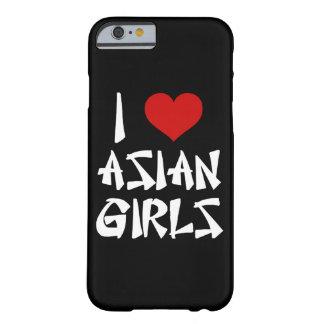 Amo el iPhone asiático 6/6s de los chicas Funda De iPhone 6 Barely There