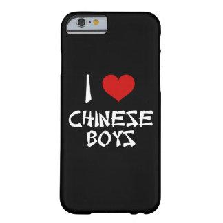 Amo el iPhone chino 6/6s de los muchachos Funda Para iPhone 6 Barely There