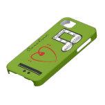 Amo el iphone conocido de encargo 5 de los amantes iPhone 5 cobertura