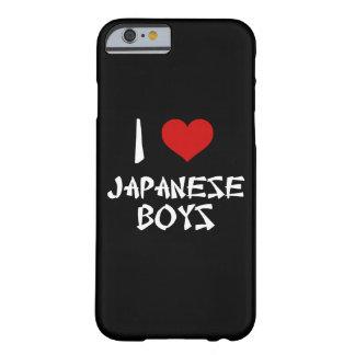 Amo el iPhone japonés 6/6s de los muchachos Funda Para iPhone 6 Barely There