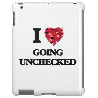 Amo el ir desenfrenado funda para iPad