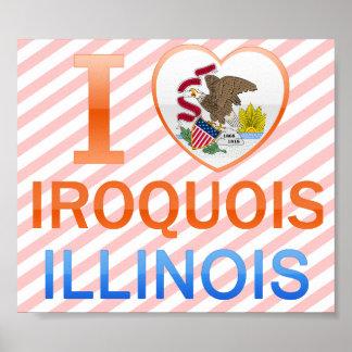 Amo el Iroquois IL Posters