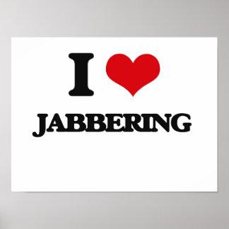 Amo el Jabbering Poster