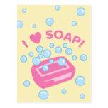 Amo el jabón postal