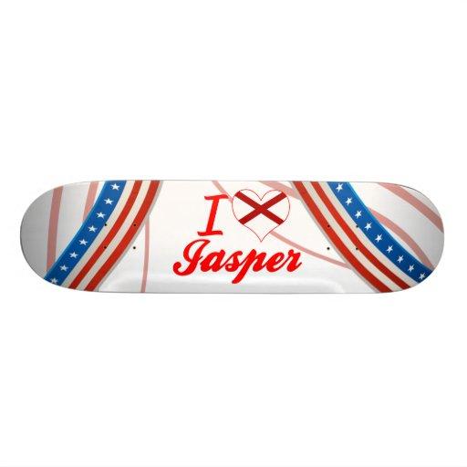 Amo el jaspe, Alabama Skateboards