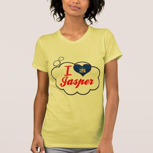 Amo el jaspe, Nueva York Camiseta